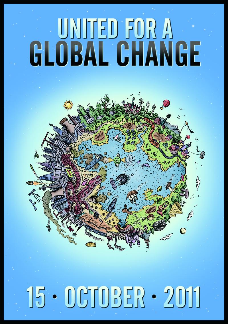 #globalchange #Occupy October 15 United for Global Change